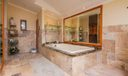 Master Bath/Spa. How relaxing!